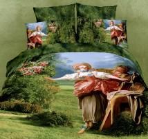 """комплект 2-х спального белья -Евро """"Гобелен""""  (наволочки 50x70)"""