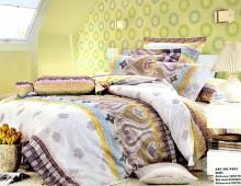 """Двухспальное постельное бельё """"Цветные штрихи"""""""