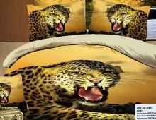 """2-х спальное постельное бельё """"Рычание леопарда"""""""