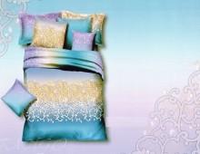 """Семейное постельное бельё """"Узоры на цветном"""""""