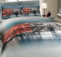 "2-х спальное постельное бельё-Евро ""City"""