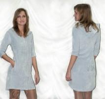 Женский халат VS серый