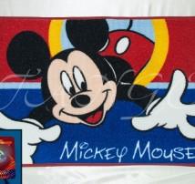 """Коврик для ванной . Прорезиненная основа  """"Микки Маус"""""""