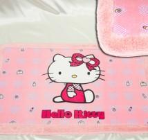 """Коврик для ванной . Прорезиненная основа, махровый кант """"Hello Kitty"""""""