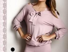 Пижама Длинная Luisa Maretti.  Молочный