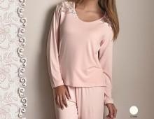 Пижама Длинная Luisa Maretti.  Розовый