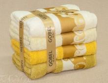 """Хлопок 100% Набор полотенец для тела или лица """"Gobel солнце"""" в подарочной упаковке"""