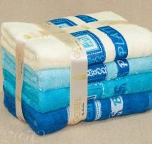 """Бамбук 100% Набор  полотенец для тела или лица в подарочной упаковке """"Gobel лазурь"""""""