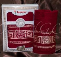 """Набор полотенец  для фитнеса и душа хлопок """"Juanna-Versace"""""""