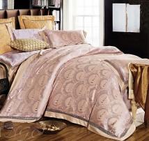 """2-х спальное постельное бельё-Евро """"Dior тарелки"""""""