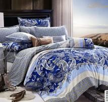 "2-х спальное постельное бельё -Евро + 4 наволочки ""Античное богатство"""