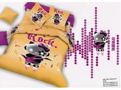 """Детское постельное бель  двуспальное """"Hello Kitty"""", 306316"""
